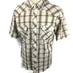 Vintage ROPER Western Shirt Pearl Snaps Large